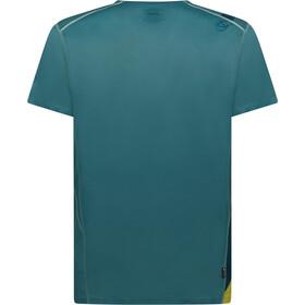 La Sportiva Stream T-shirt Heren, pine/kiwi